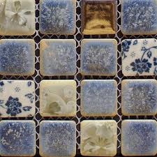 Kitchen Wall Tile Designs Porcelain Tile Snowflake Style Mosaic Art Design
