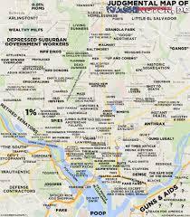 Washington Dc Subway Map Filedc Neighborhoods Mappng Wikimedia Commons Judgmental