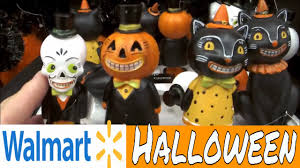 walmart vintage halloween decor shop with me youtube