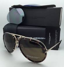 porsche design sunglasses porsche design titanium aviator sunglasses p 8613 b gold