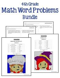 4th grade math word problems printables u0026 worksheets