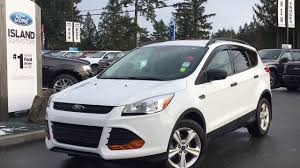 Ford Escape 2015 - 2015 ford escape s back up camera review island ford youtube