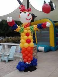 clown show for birthday party a child s garden party accademia palloncino italiano