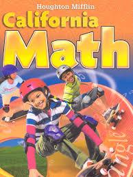 houghton mifflin mathmatics california student edition level 5