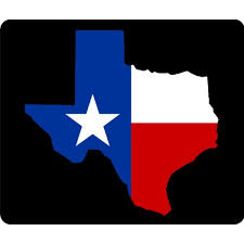 Flag In Computer Texas State Flag Outline Thick Mouse Pad Mousepads Computer