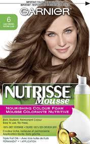 how to dye dark brown hair light brown amazon com garnier nutrisse nourishing color foam light brown