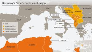 different origin means different chance of success for asylum