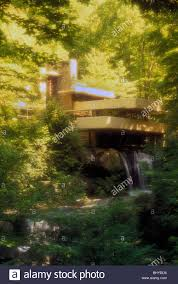falling water house ohiopyle pennsylvania usa by frank lloyd