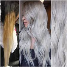 how long does hair ombre last transformation old banded ombre to exciting silver blonde