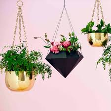 large brass hanging planter show me everything homeware me