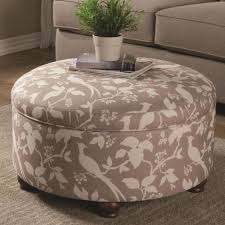 Large Ottoman With Storage Storage Ottoman Home Design By Larizza
