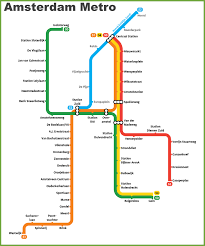 rotterdam netherlands metro map amsterdam metro map