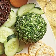 thanksgiving cheese ball feta olive fresh herb cheese ball recipe myrecipes