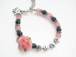 infant name bracelet best 25 name bracelet ideas on modern kids jewelry