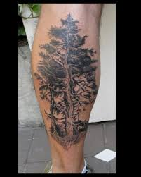 pine fir tree tattoos inspiring tattoos