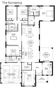 entertaining house plans floor plan friday excellent 4 bedroom bifolds with integrated