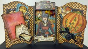 halloween steampunk frame scrapbook treasures and more u2026