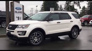cars ford explorer 2017 ford explorer sport power folding 3rd row seats review
