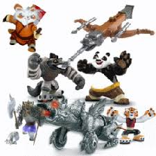 kung fu panda action figures