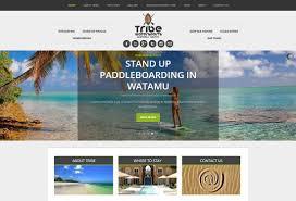 tribe website design azura design