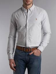light blue striped polo dress polo ralph lauren men slim fit striped oxford shirt ktcq92zhk light