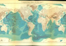 Map With Oceans Where Is Challenger Deep U2013 National Geographic Blog