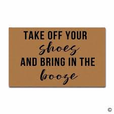 doormat funny funny printed doormat funny entrance mat take off your shoes and