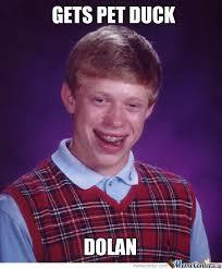Bad Luck Meme - bad luck brian has bad luck by megalolzlol meme center