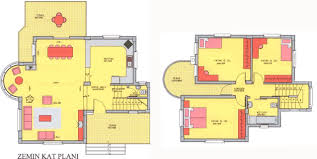 small villa house plans india home design and style 1965 square