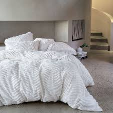 drift white quilt cover u0026 pillowcase set white by linen house