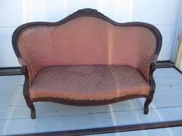 Recovering A Settee Antique Settee Ebay