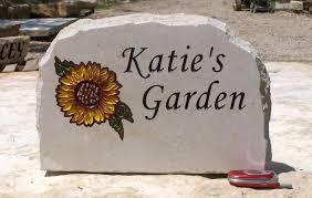 personalized garden stones innovative personalized garden rocks engraved stones stoneworx