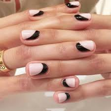 these are the biggest nail trends for 2017 black accents nail