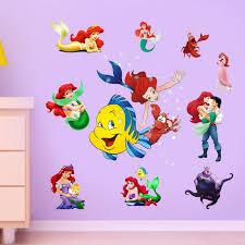 new wall stickers ariel the little mermaid princess stickers vinyl