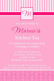 kitchen tea invitation ideas kitchen tea bridal shower and hens invitations
