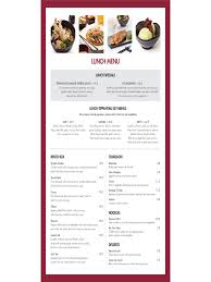 lunch menu template free 2017 menu template fillable printable pdf forms handypdf
