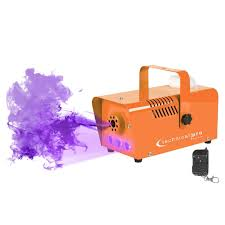 upc code for halloween horror nights halloween orange fog machine with strobe u0026 blacklight idjnow