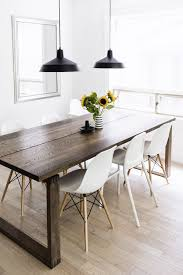 dining table pendant light scandinavian inspired dining room mörbylånga table eames chairs
