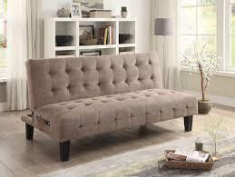 sofa taupe taupe textured chenille sofa bed futon caravana furniture