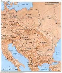 map of europe russia middle east europe maps perry castañeda map collection ut library