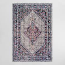 pink floral chloe area rug world market