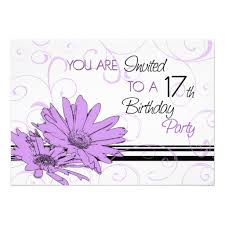 sweet seventeen invitation card party themes inspiration