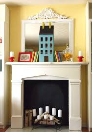 decorating fireplace with candles pictures candles in the