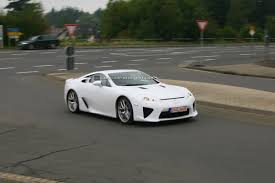 lexus lfa overpriced 2010 lexus lf a v10 supercar scooped with minimum camouflage