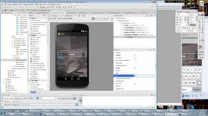 android studio 1 5 tutorial for beginners pdf android studio tutorial making a register screen 1 xml ui youtube