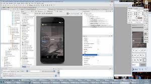 android studio ui design tutorial pdf android studio tutorial making a register screen 1 xml ui youtube