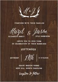 cheap rustic wedding invitations rustic wedding invitations match your color style free