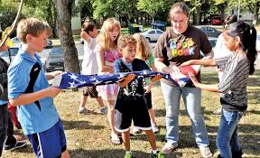 Flag Corps Students Render Honors In New Aukamm Flag Corps Article The