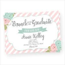 graduation lunch invitation wording graduation invitation templates free premium templates
