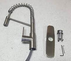 Commercial Style Kitchen Faucet Kraus Kpf 2630ss Modern Mateo Single Lever Commercial Style